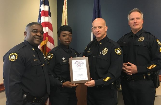 National Night Out 2018 award