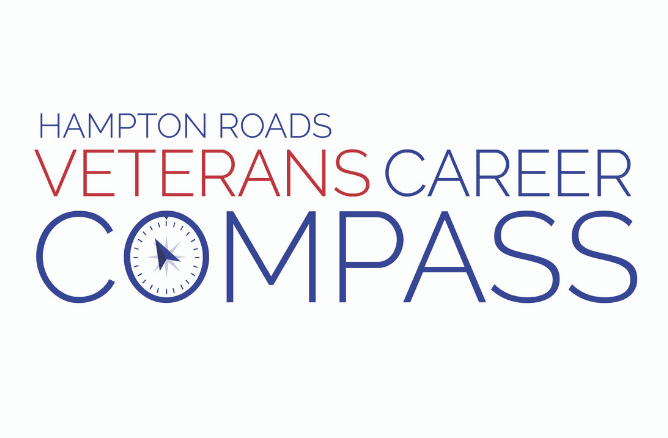 Hampton Roads Veterans Career Compass logo