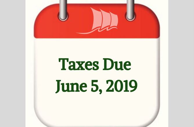 Taxes Due June 5, 2019 web