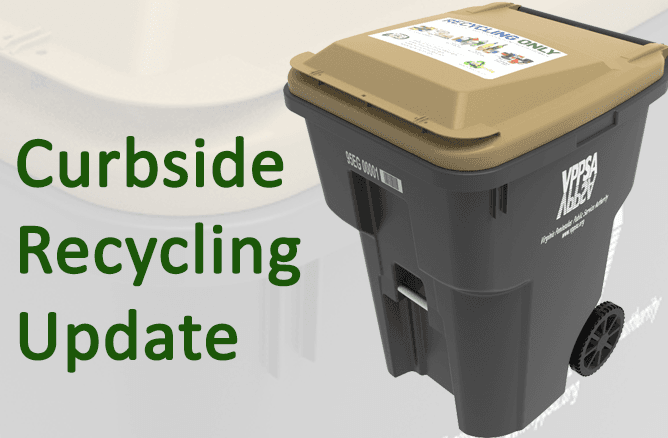Curbside Recycling Update July