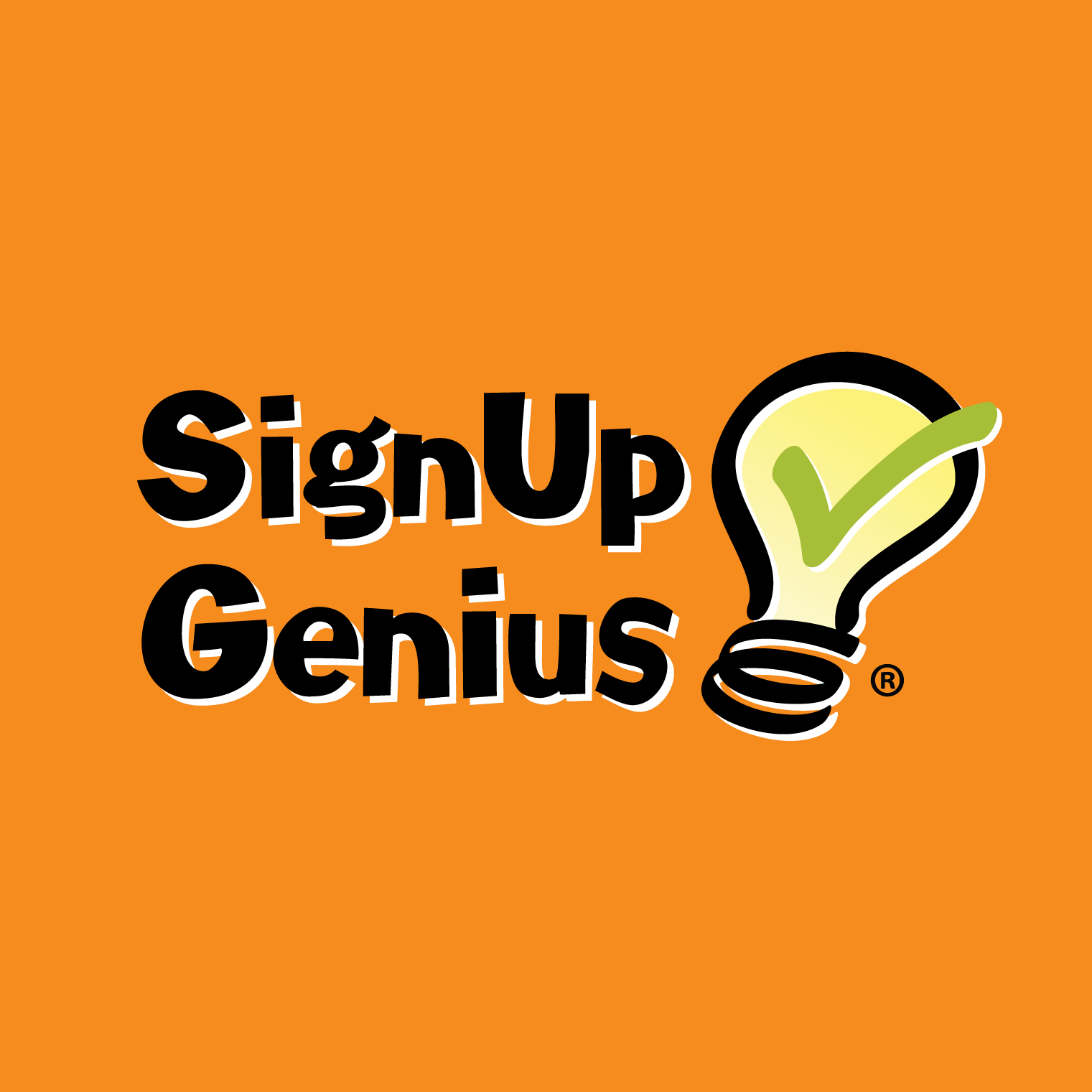 Signup Genius press-logo-stacked-orange
